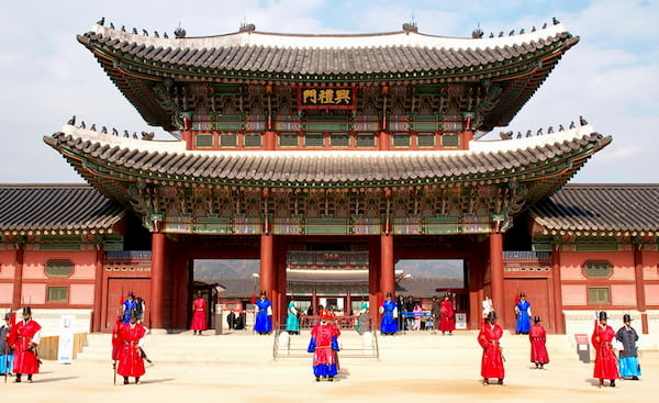 Cung dien Gyeongbok
