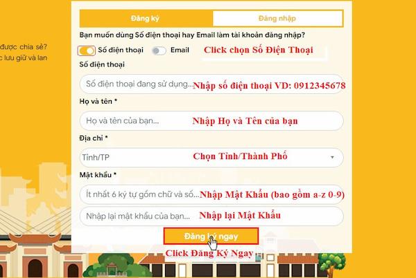 Huong dan dang ky tai khoan tai website tuongtaccongdong.com 2