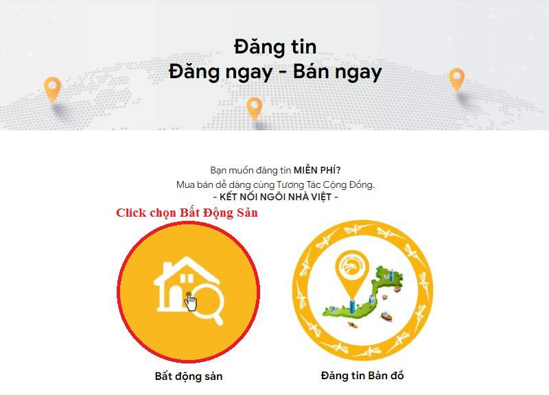 Huong dan dang tin bat dong san mien phi tai tuongtaccongdong.com 2
