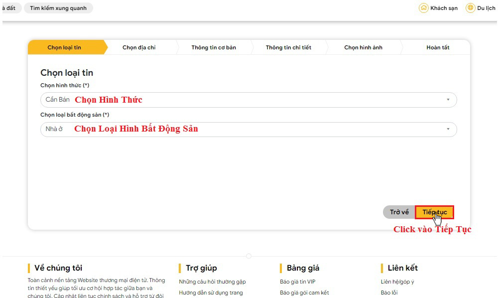 Huong dan dang tin bat dong san mien phi tai tuongtaccongdong.com 5