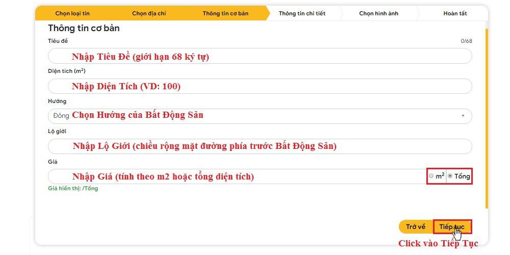 Huong dan dang tin bat dong san mien phi tai tuongtaccongdong.com 7