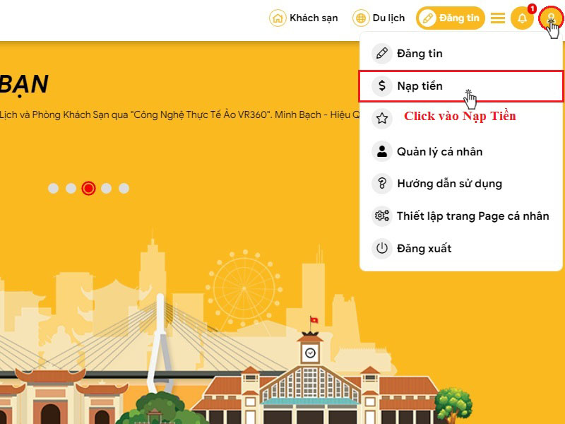 Huong dan nap tien tai tuongtaccongdong.com 1