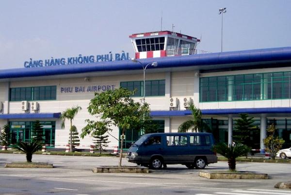 Cang hang khong Phu Bai cua tinh Thua Thien Hue