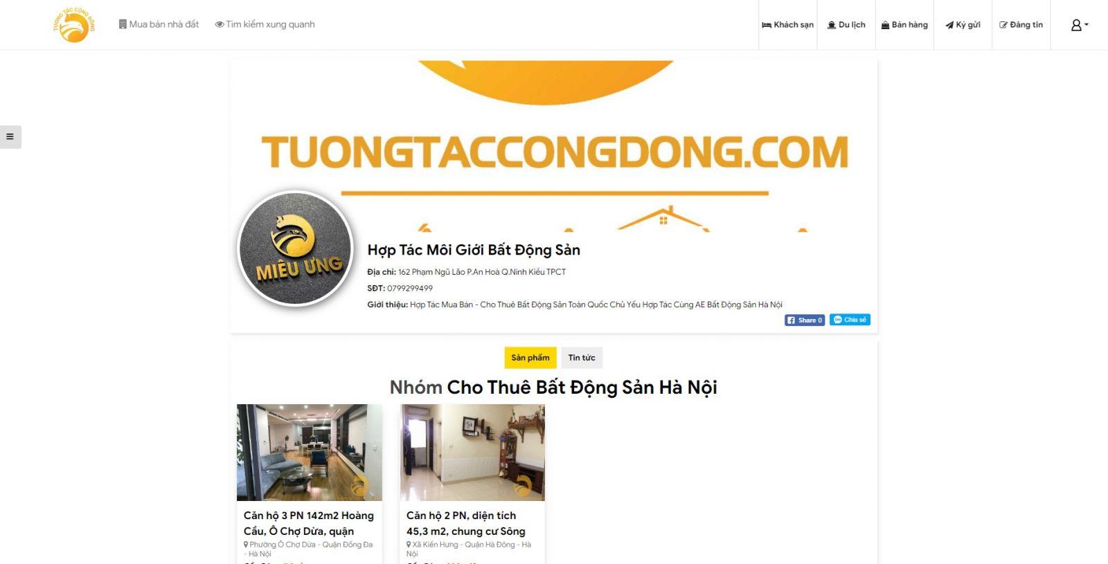 Hình ảnh Tính Năng Trang Page - tuongtaccongdong.com