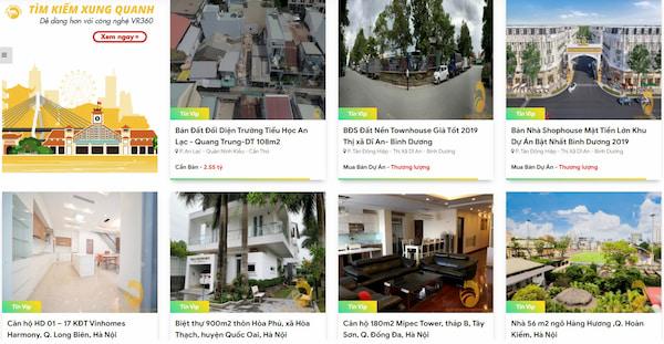 Hinh anh Dang Tin VIP Mua Ban - Cho Thue Nha Dat tai Website